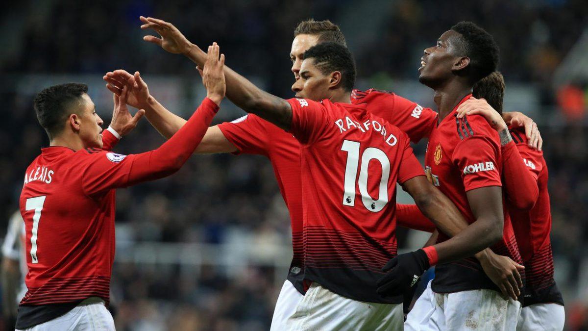 Dibawah Kepelatihan Solskjaer, Rashford Menjadi Striker Utama di Manchester United
