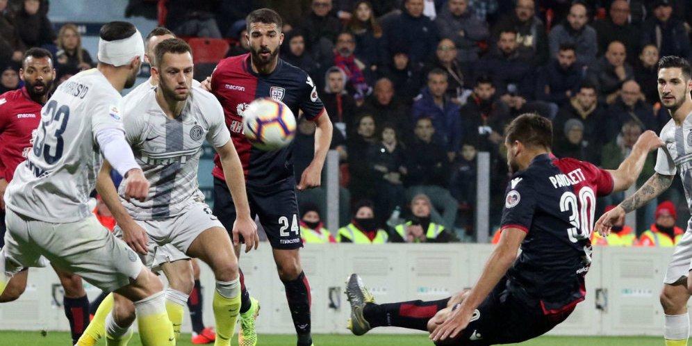 Cagliari Bungkam Inter Milan