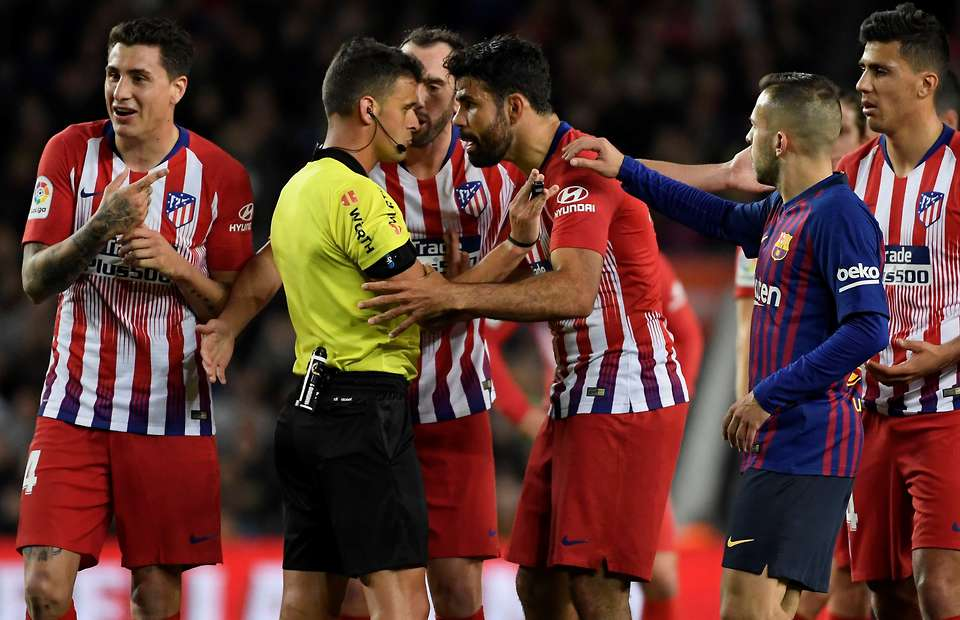 RFEF Jatuhi Hukuman Berat Untuk Costa