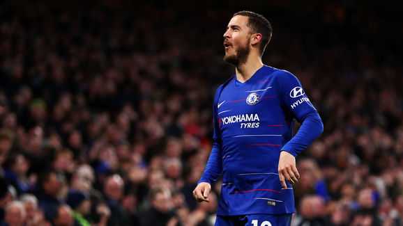 Hazard Bawa Chelsea Ke Posisi Tiga