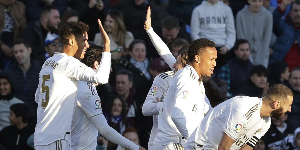 Hasil Pertandingan Getafe Vs Real Madrid Skor 0-3