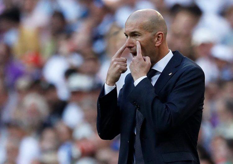 Hasil Positif Debut Pertama Zidane Bersama Real Madrid