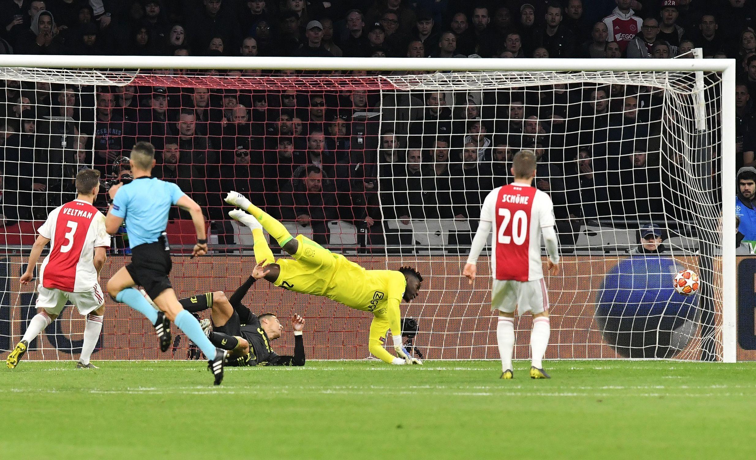 Ajax Tahan Imbang Juventus di Leg Pertama